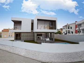 House T4 / Almada, Quinta de  Monserrate